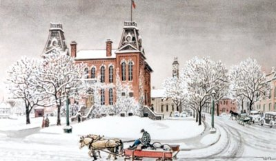 Waterloo Town Hall, Circa 1925
