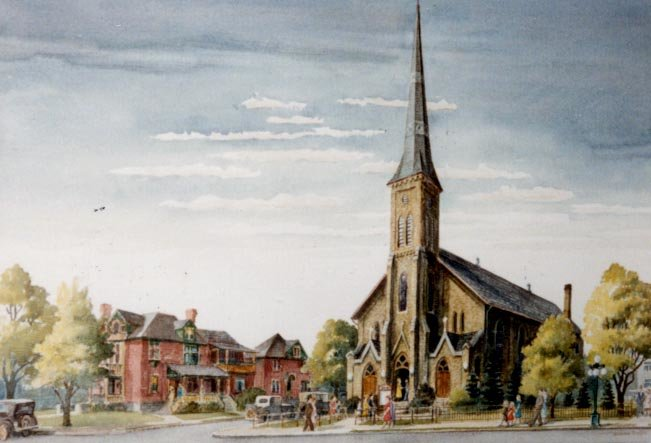 St. John's Lutheran Church, Circa 1935
