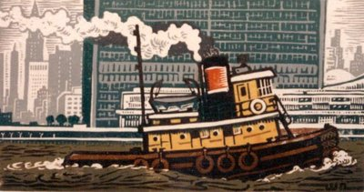 Yellow Tug at U.N.