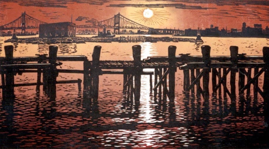 Sunrise At Hell Gate