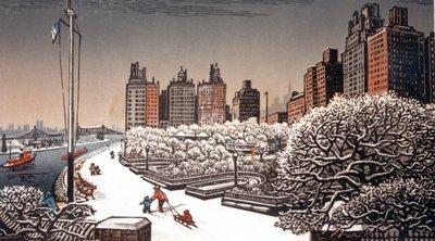 Carl Schurz Park in Winter
