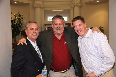Three men at a Laurier Brantford event