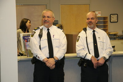 Clayton Vokey and Chris Hancocks, Special Constable Service Open House, 2008