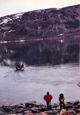 Marie Sanderson research team, Nunavut