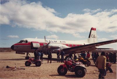 Calm Air airplane, Nunavut