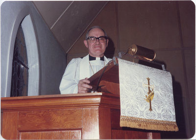 Rev. Donald Kranz, St. Timothy's Lutheran Church, Copper Cliff, Ontario
