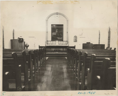 Interior of St. Timothy's Lutheran Church, Copper Cliff Ontario