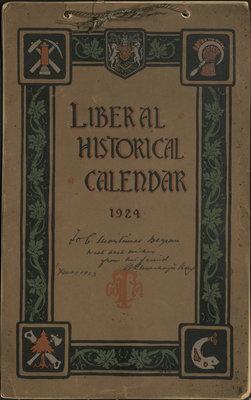 Liberal Historical Calendar, 1924