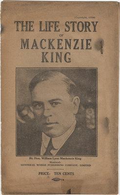 The Life Story of Mackenzie King, 1926