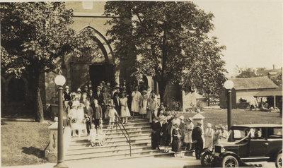 Wedding at St. Peter's Lutheran Church, Kitchener, Ontario