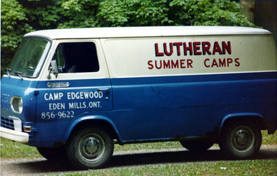 Lutheran Summer Camps van