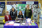 Arts Booth at Laurier Day 2002