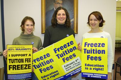 Tuition fee protest, 2002