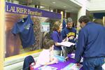 Brantford booth at Laurier Day 2002