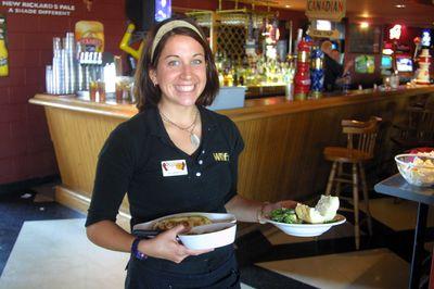 Wilf's Restaurant and Bar server, 2003