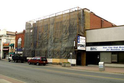 Odeon Building renovations, Laurier Brantford, 2004
