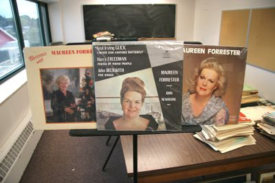 Maureen Forrester records