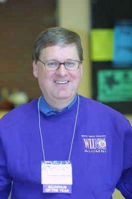 Dan Andrae at Alumni Awareness Week, 2002