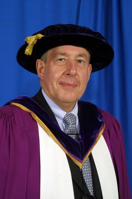 Jean-Michel Lacroix at spring convocation, 2004