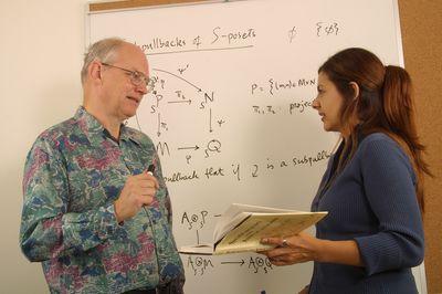 Mathematics lab, 2003