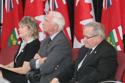Brenda Halloran, David Johnston and Robert Rosehart, 2007