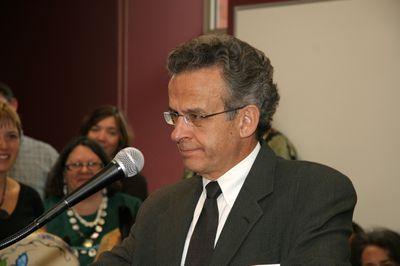 Luke Fusco at Faculty of Social Work Kitchener opening, 2006