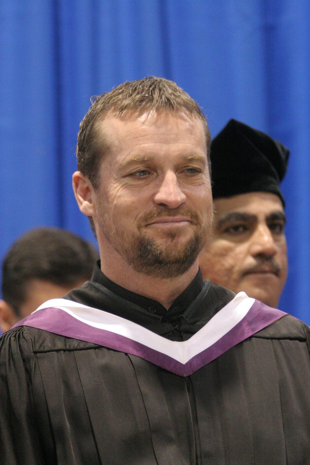 Peter Hatch at Wilfrid Laurier University fall convocation, 2006