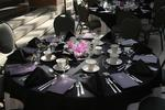 Table setting at Laurier Society dinner, 2006