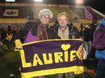 Robert Rosehart and Carole Bertuzzi Luciani at Vanier Cup, 2005