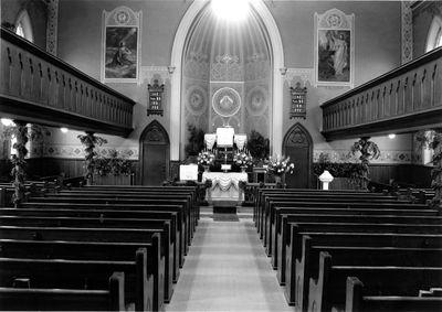 Interior - St. John's Lutheran Church, Waterloo, Ontario
