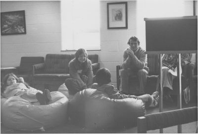 Students lounging