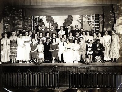 "Cast of ""Hearts and Blossoms"", St. John's Lutheran Church"