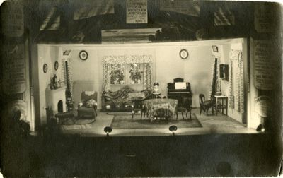 """Set of """"Little Women"""", staged at Waterloo Town Hall"""