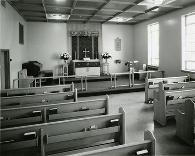 Chapel at St. John's Lutheran, Waterloo, Ontario