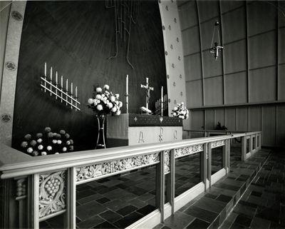 Altar, St. John's Lutheran Church, Waterloo, Ontario