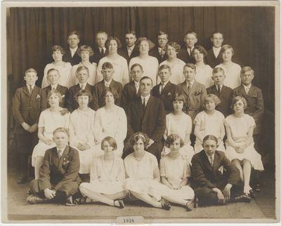 St. John's Lutheran Church confirmation class, 1926