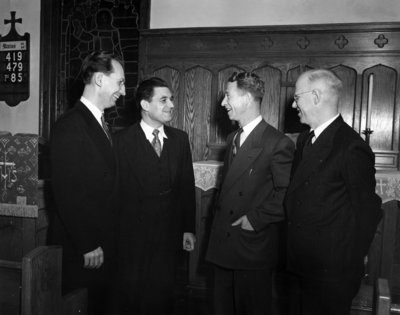 Waterloo Lutheran Seminary faculty, 1950