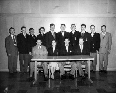 Waterloo College Debating Club, 1953-54