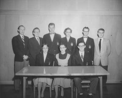Cord editorial staff, 1953-54