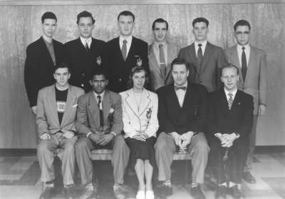 Waterloo College Debating Club, 1954-55