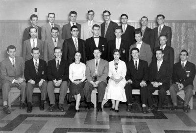 Inter-Varsity Christian Fellowship, Waterloo College, 1955-56