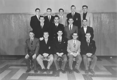 Waterloo College Male Chorus, 1954-55