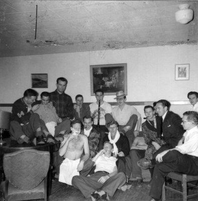 Waterloo College Boarding Club, 1954-55