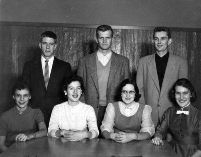 Waterloo College Athletic Directorate, 1955-56
