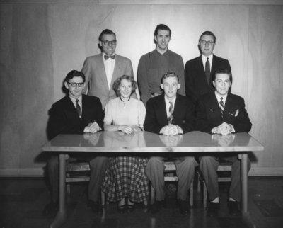 Waterloo College Athletic Directorate, 1953-54