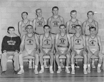 Waterloo College men's basketball team, 1955-56