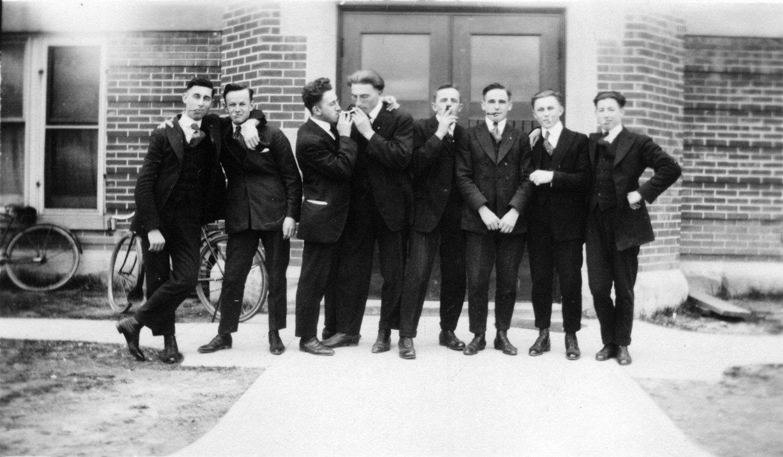 Waterloo College School students