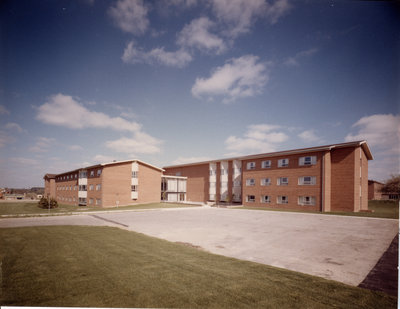 Waterloo Lutheran University women's residence building