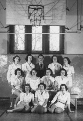 Waterloo College women's basketball team, 1950-51