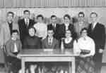 Keystone Editorial staff, 1954-55